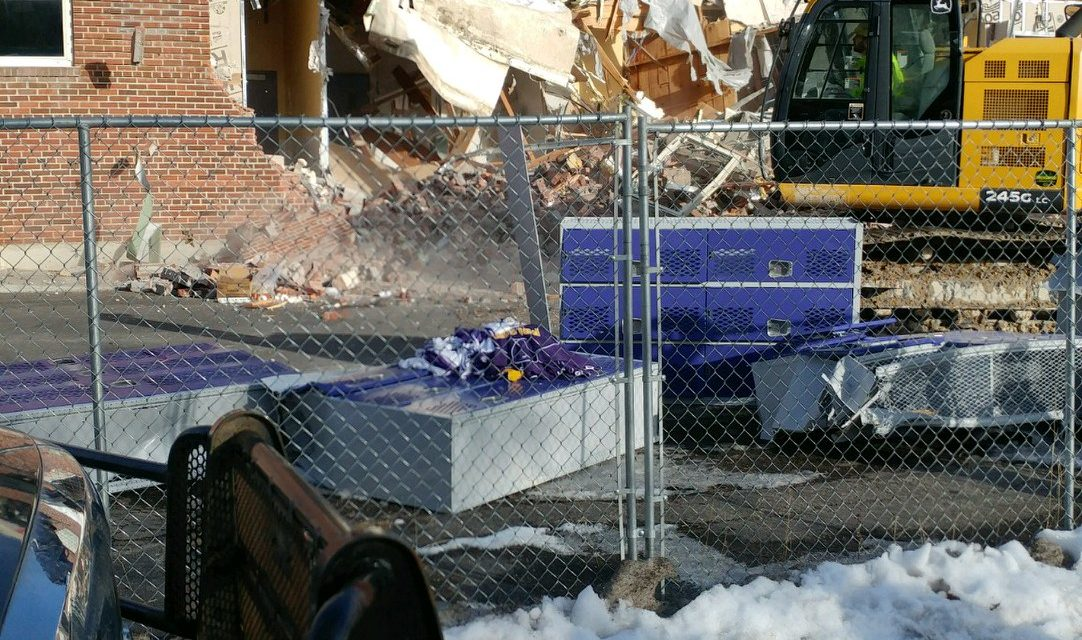 UPDATE: Linderman Gym Roof Tear Down